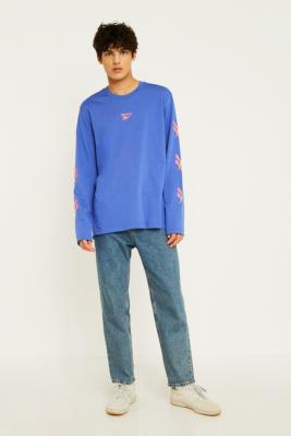Reebok Lf Vector Blue Long Sleeve T Shirt by Reebok
