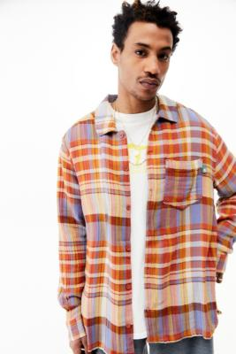 UO - Chemise texturée à carreaux - Urban Outfitters - Modalova
