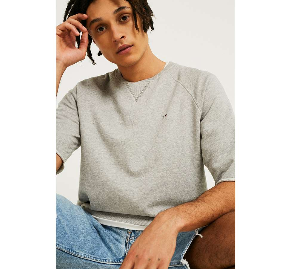 Slide View: 1: Tommy Jeans - Sweatshirt Summer gris