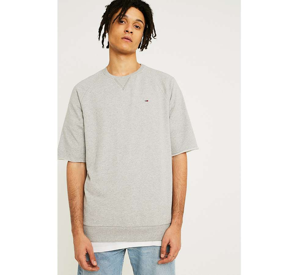 Slide View: 3: Tommy Jeans - Sweatshirt Summer gris