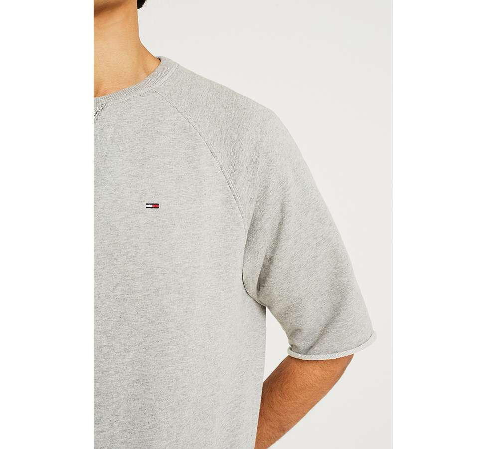 Slide View: 4: Tommy Jeans - Sweatshirt Summer gris