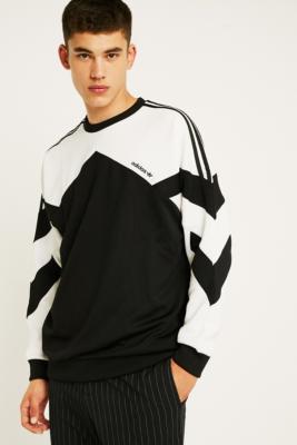 top design 100% quality new concept Shoptagr | Adidas Palmeston Black Crew Neck Sweatshirt by Adidas