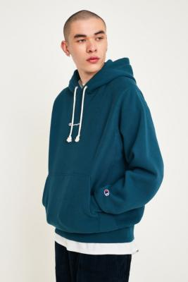 """Champion X Uo – Inside Out Hoodie """"Pond"""" by Champion Shoppen"""