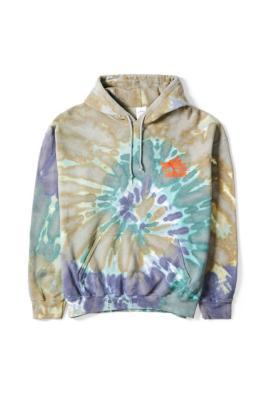 UO -\u00a0 Sweat à capuche imprimé tie-dye cosmique - Urban Outfitters - Modalova