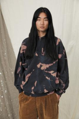 Temporary Collective Earth Organic Hoodie - Blue XL at Urban Outfitters