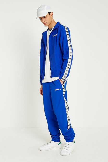 adidas Bold Blue TNT Windbreaker Track Pants