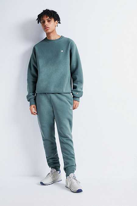 Champion X UO Teal Reverse Weave Joggers