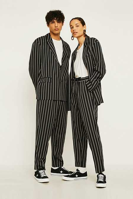Loom Unisex Preppy Suit Trousers