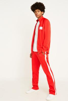 Calvin Klein Jeans Stripe Red Track Pants by Calvin Klein Jeans