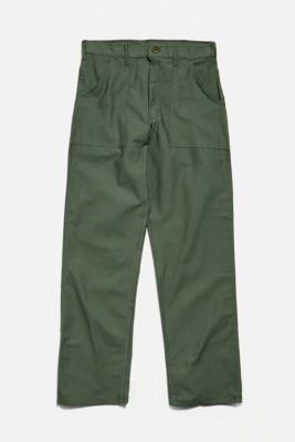 Stan Ray Green Taper Fatigue Olive Ripstop Trousers - Green 32 at Urban Outfitters