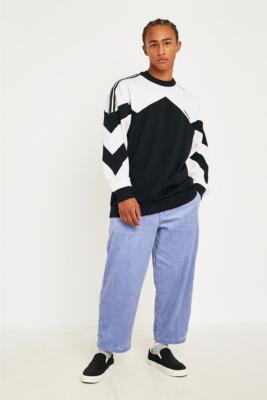Uo   Pantalon Chino De Skate En Velours Côtelé Bleu by Urban Outfitters