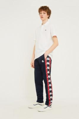 kappa-astoria-navy-logo-track-pants by kappa