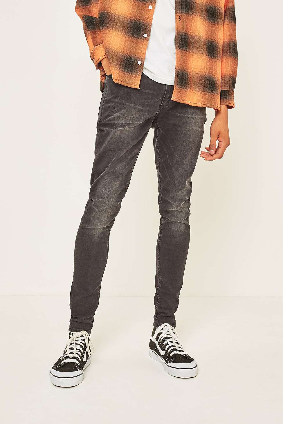 Cheap Monday Him Spray Pistol Black Skinny Jeans | Urban Outfitters