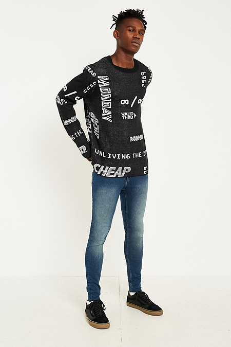 Cheap Monday Him Spray New Term Skinny Jeans