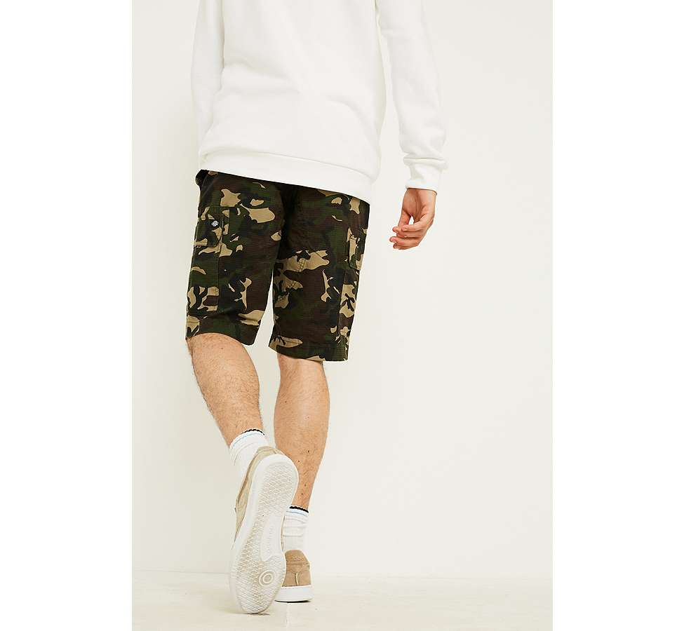 "Slide View: 2: Dickies – Workwear-Shorts ""New York"" in Camouflage"