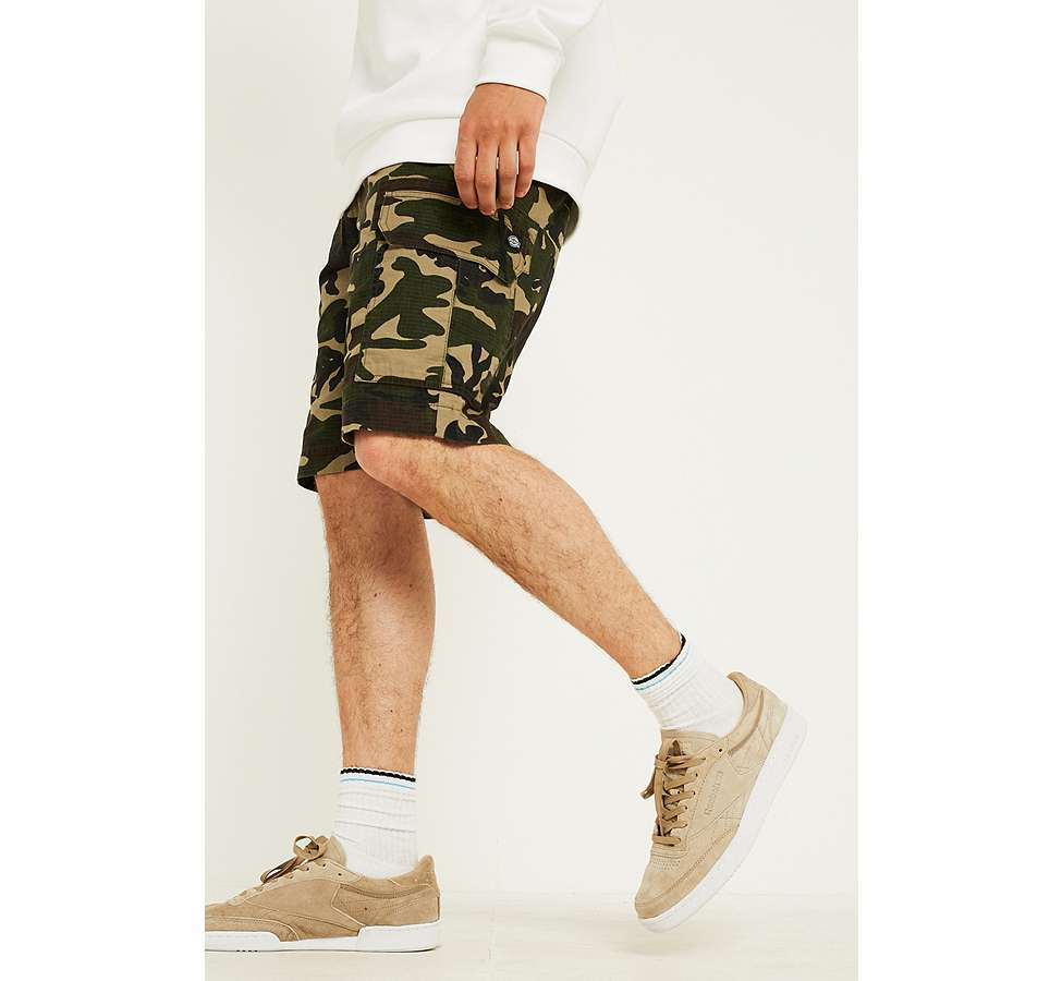 "Slide View: 5: Dickies – Workwear-Shorts ""New York"" in Camouflage"