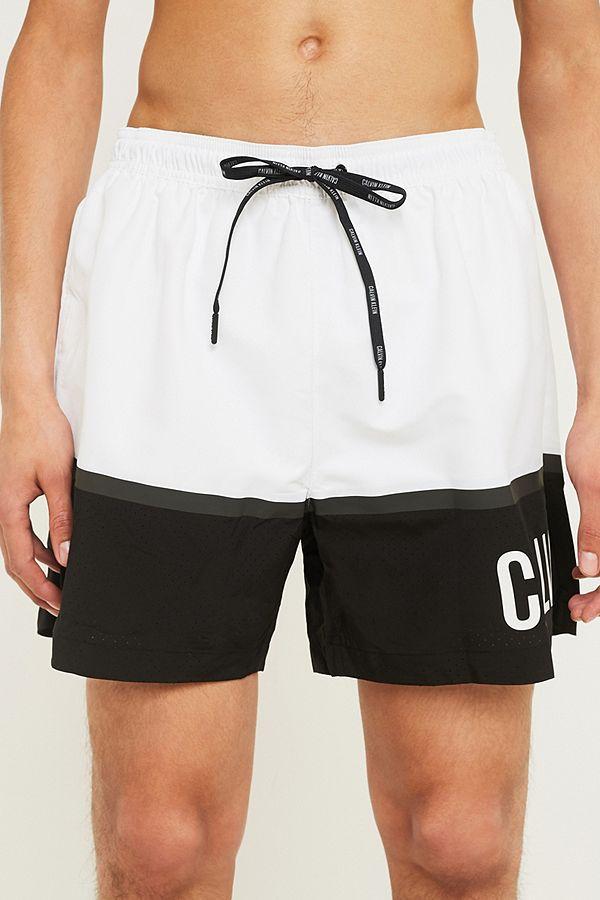 Calvin Klein Intense Power Plus White Swim Shorts  e9cad0857