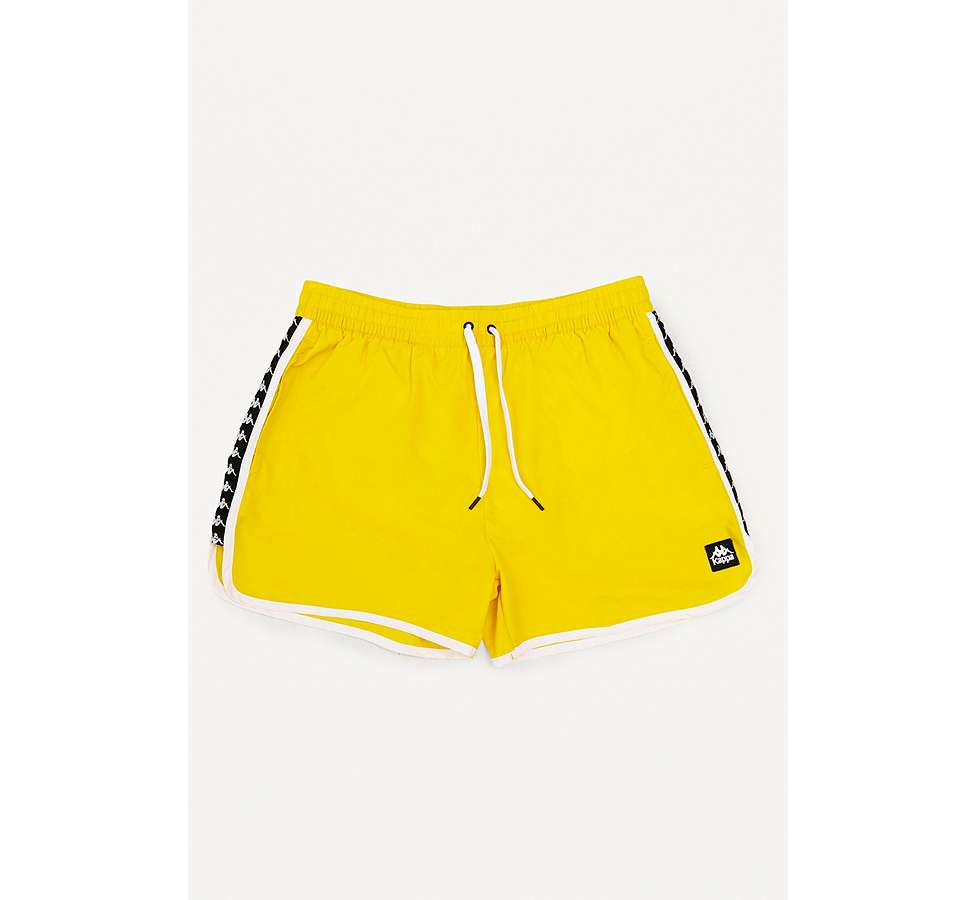 Slide View: 2: Kappa Authentic Agius Yellow Swim Shorts