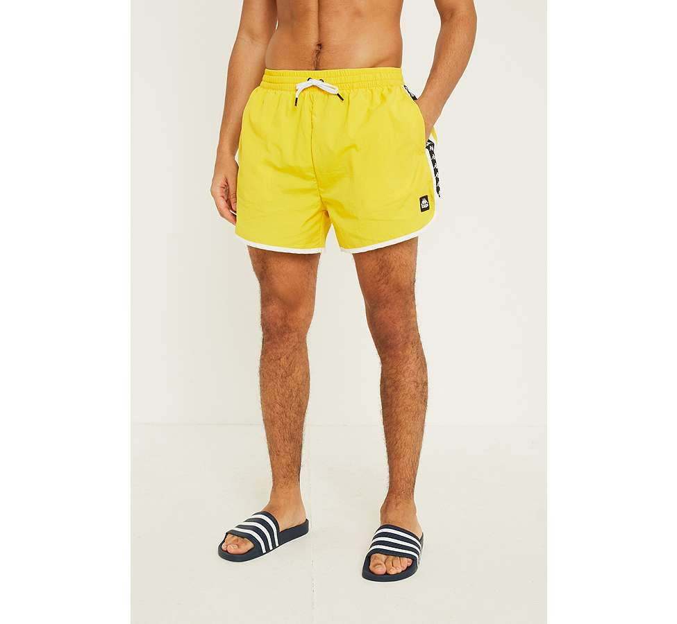 Slide View: 4: Kappa Authentic Agius Yellow Swim Shorts