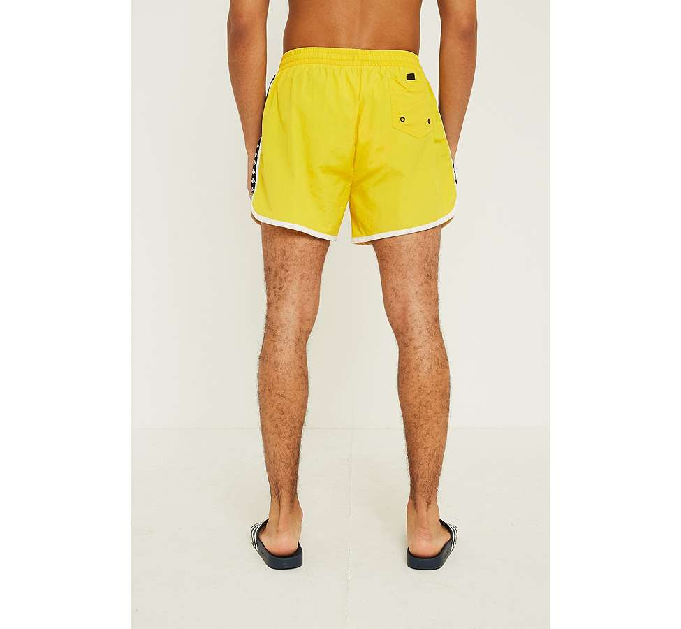 Slide View: 5: Kappa Authentic Agius Yellow Swim Shorts