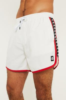 6fc2eec23e Shoptagr | Kappa Authentic Agius White Swim Shorts by Kappa