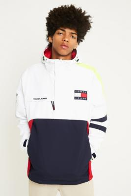 Tommy Jeans '90s White Sailing Jacket by Urban Outfitters