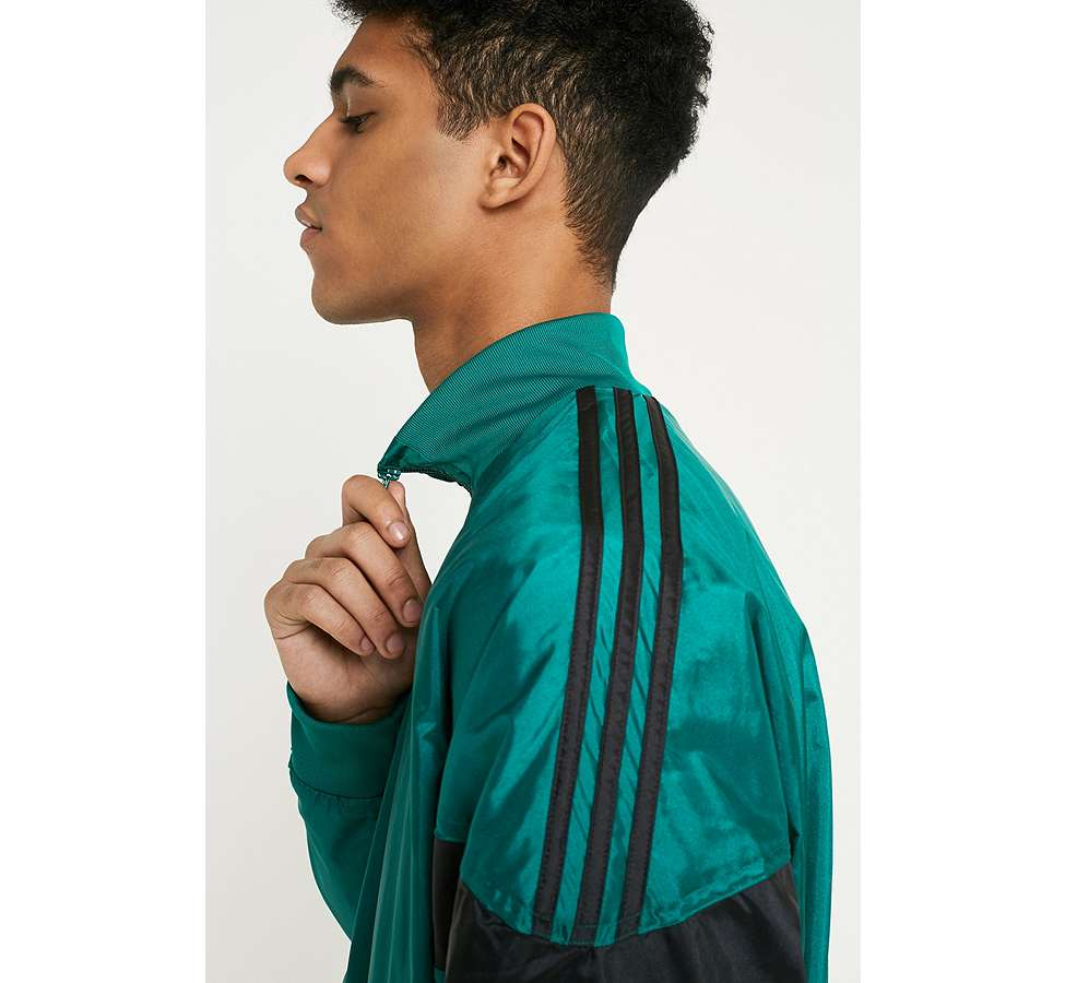 Slide View: 3: adidas CLR-84 Sub Green Track Top