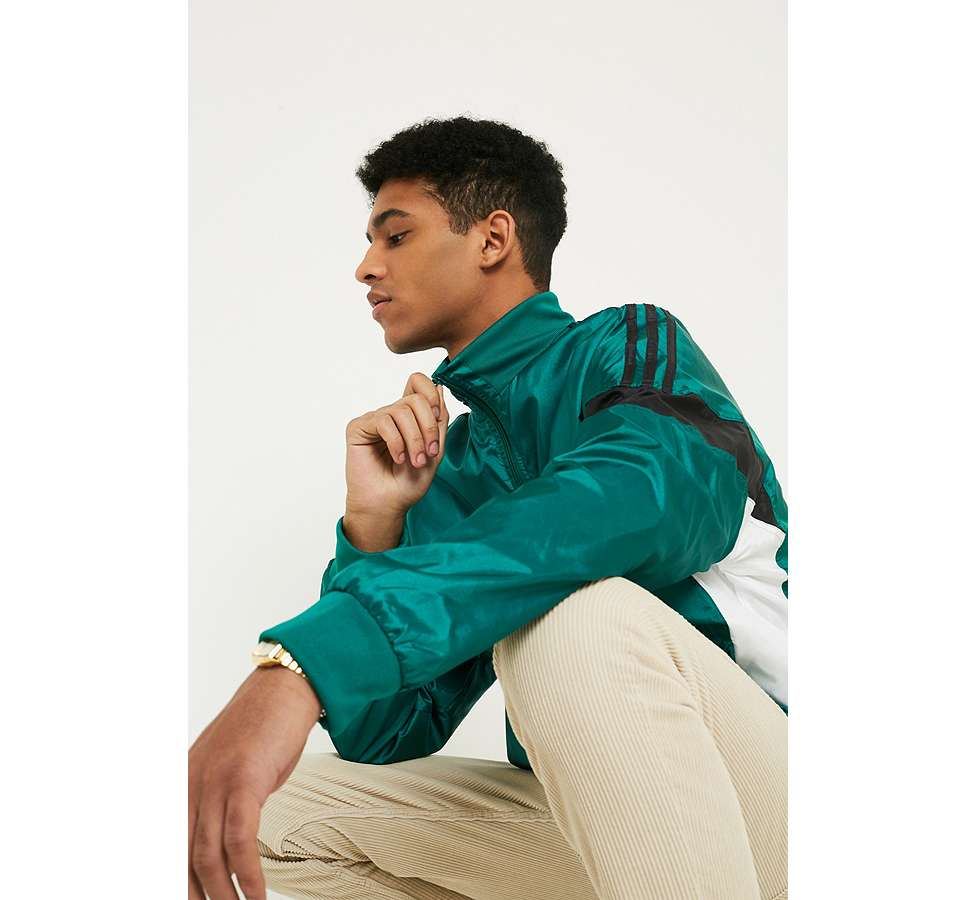 Slide View: 6: adidas CLR-84 Sub Green Track Top