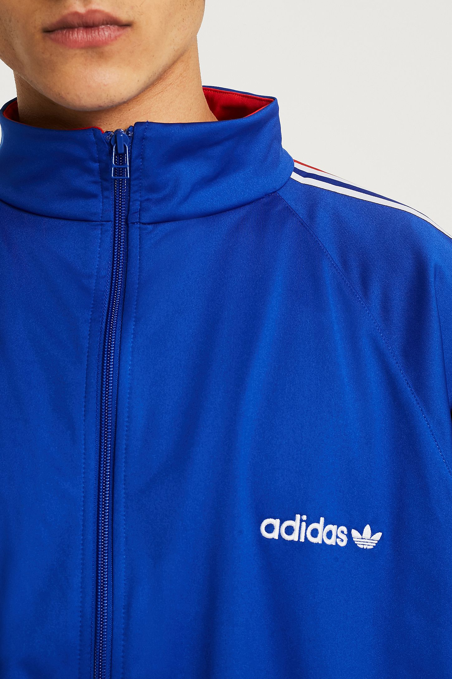 slide view 5 adidas aloxe bold blue track top