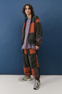 iets frans. Patchwork Track Jacket - Assorted M at Urban Outfitters