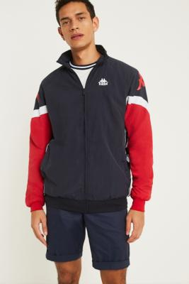 Kappa Jackson Navy Zip Through Track Jacket by Kappa
