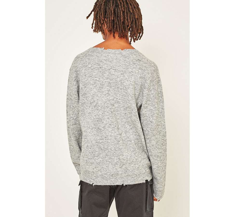 Slide View: 6: Cheap Monday – Melierter Strickpullover in Grau