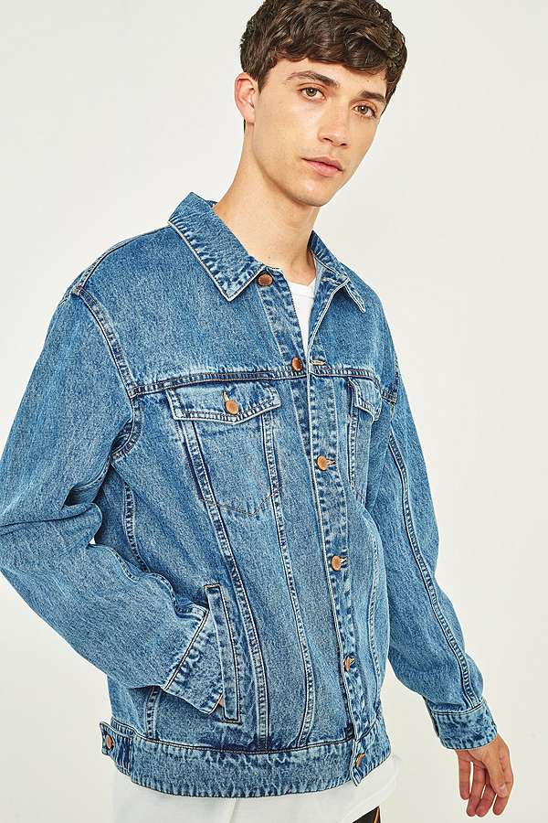 Cheap Monday Chapter Blue Oversized Denim Jacket | Urban Outfitters