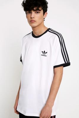 Shoptagr | Adidas – T Shirt In Weiß Mit 3 Streifen Styling