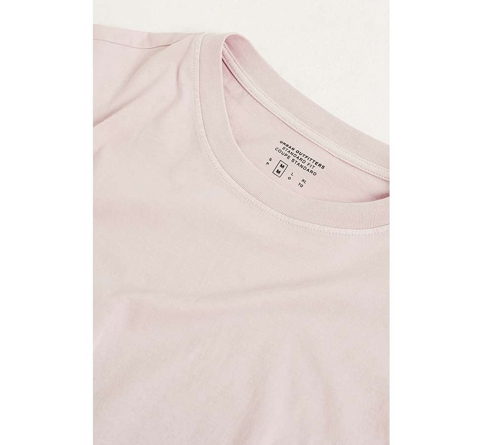 Slide View: 4: UO Dusty Pink Pigment Dyed Dad T-Shirt