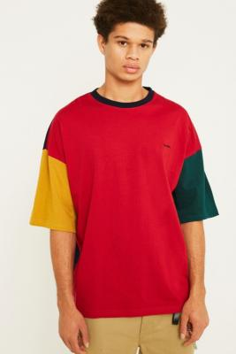 Iets Frans… Multi Colour Block Washed T Shirt by Iets Frans...