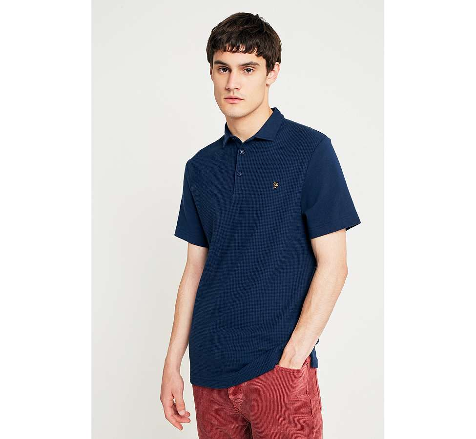 Slide View: 1: Farah - Polo Pendleton Yale bleu