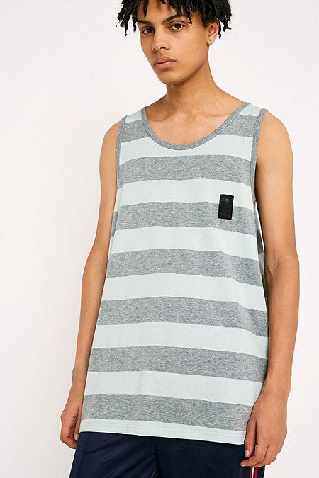 5a31ee7d3ebe34 Cheap Monday Zeal Mint Striped Vest