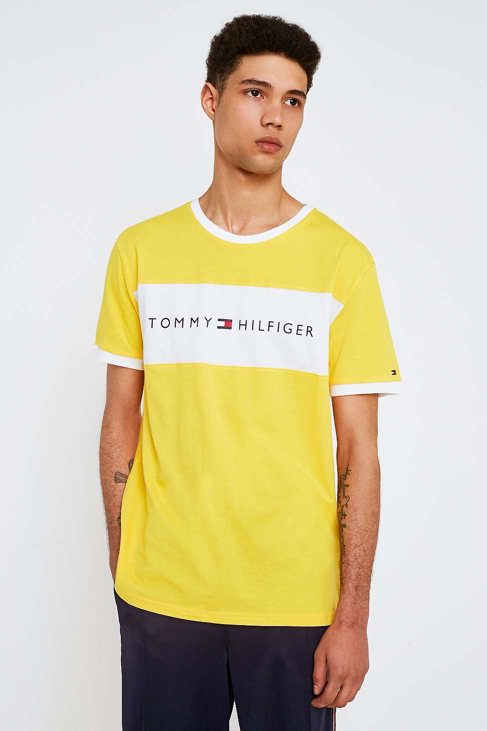 Tommy Hilfiger T-shirt à logo écusson