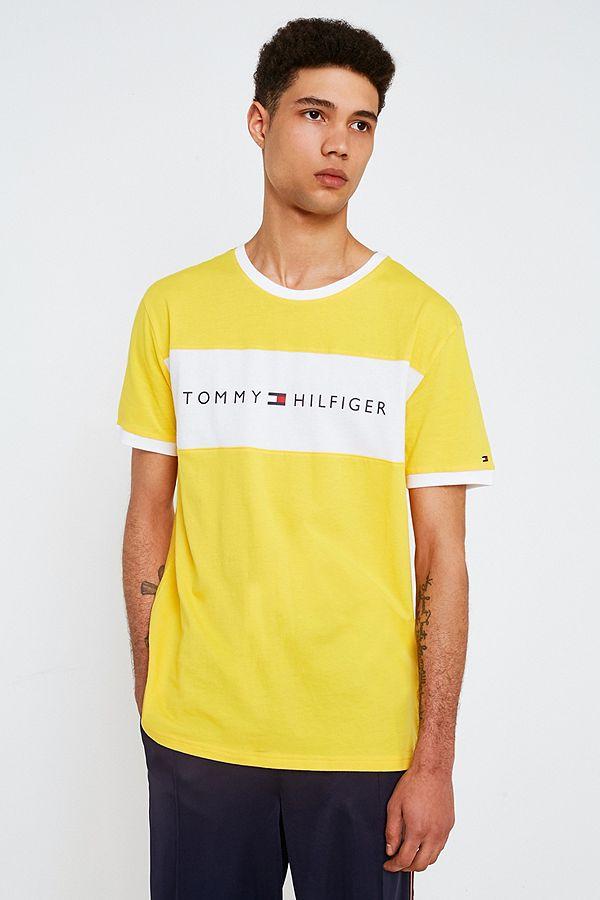 incroyable Tommy Hilfiger T-shirt à logo écusson Pas Cher En Vente Achats En Ligne Achat Frais De Port Offerts Par Carte De Crédit Prix Pas Cher TOwI2