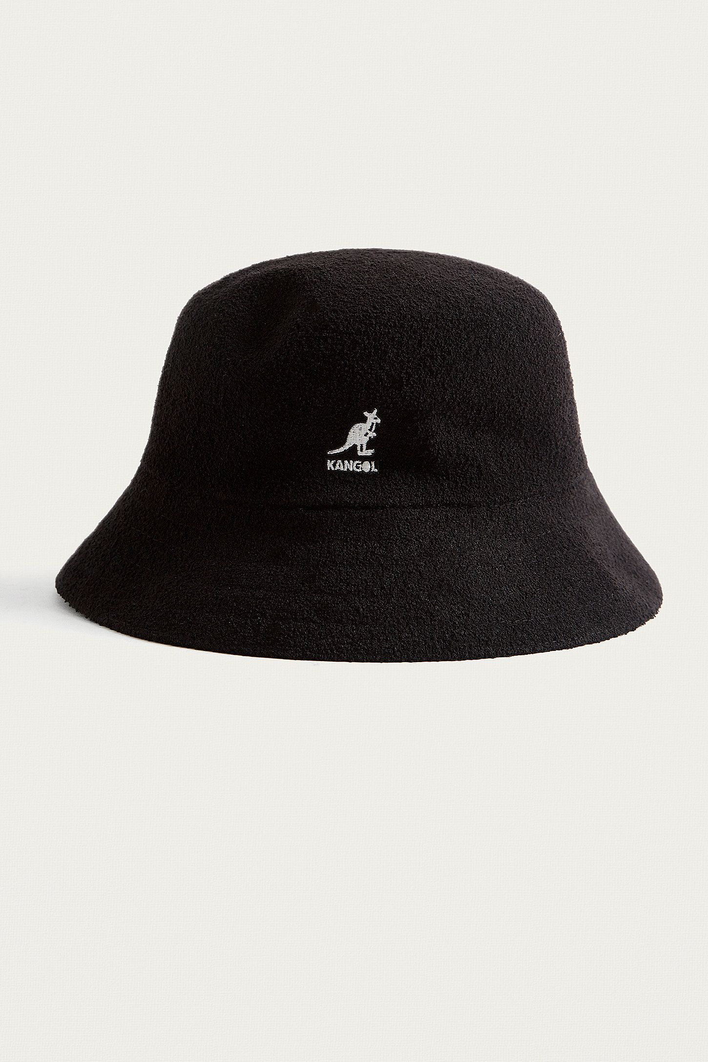 Kangol Bermuda Black Bucket Hat  867683e3950