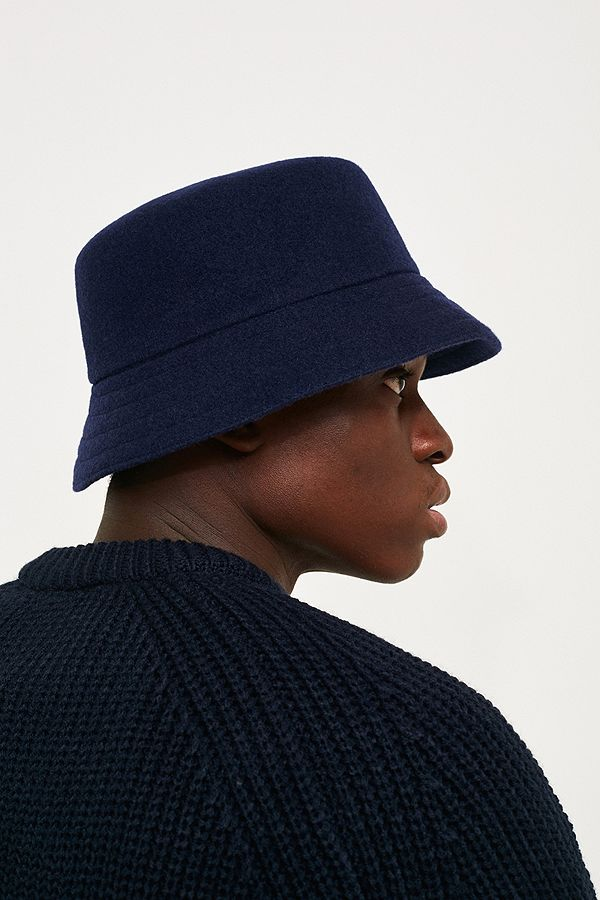 d62b4114da519 discount code for slide view 5 kangol wool lahinch navy bucket hat 875fa  09a0d