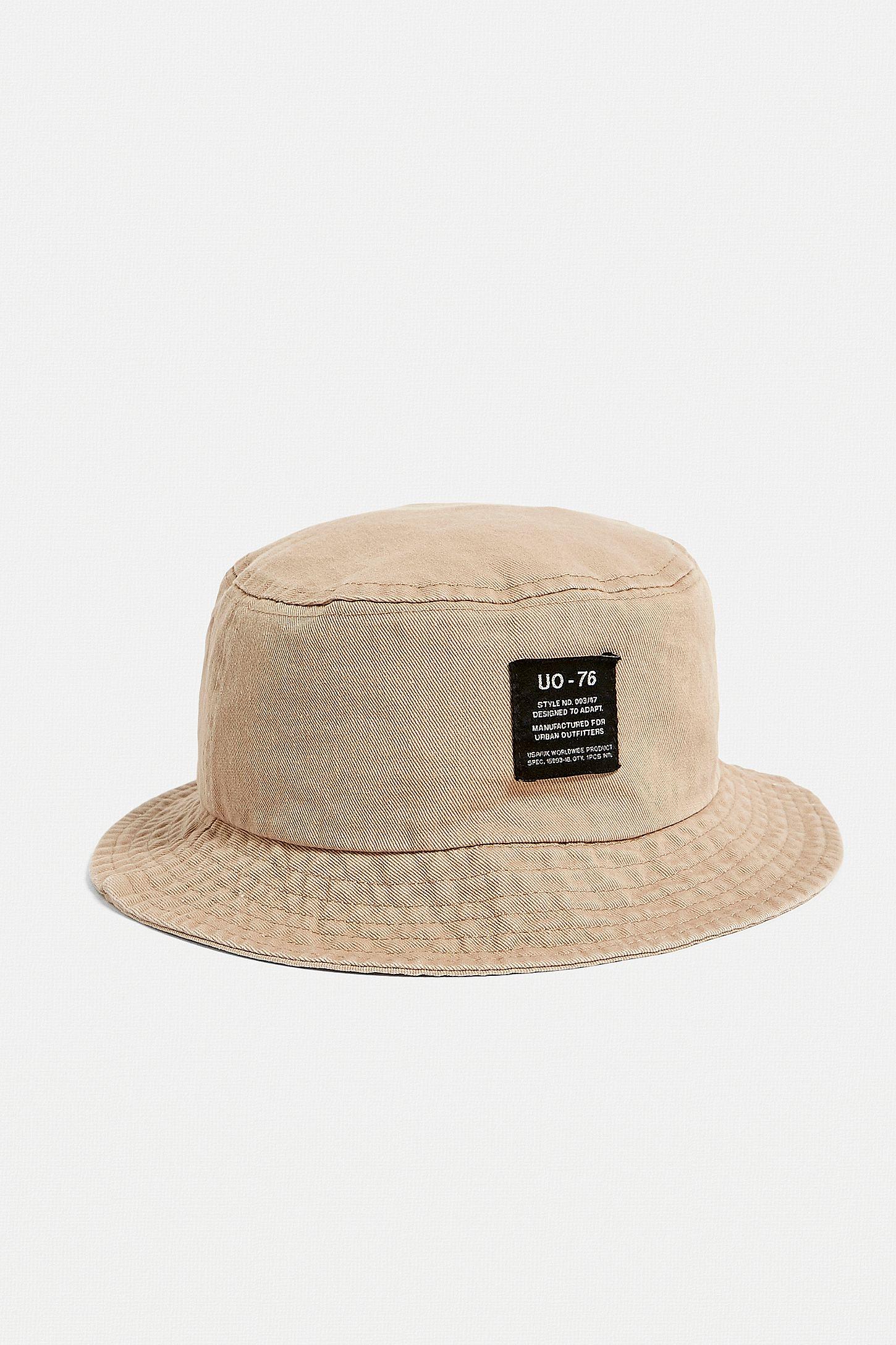Slide View  3  UO Stone Twill Bucket Hat 1cc53313b10