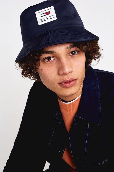 57449e082c6 Tommy Jeans Reversible Teddy Bucket Hat