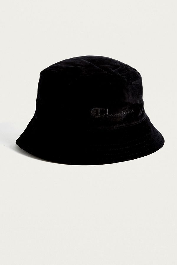 90e7472f3e1 amazon slide view 3 champion velvet black bucket hat 0ac92 397a9