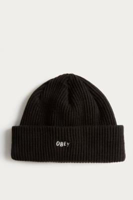 Obey Hangman Black Beanie by Obey