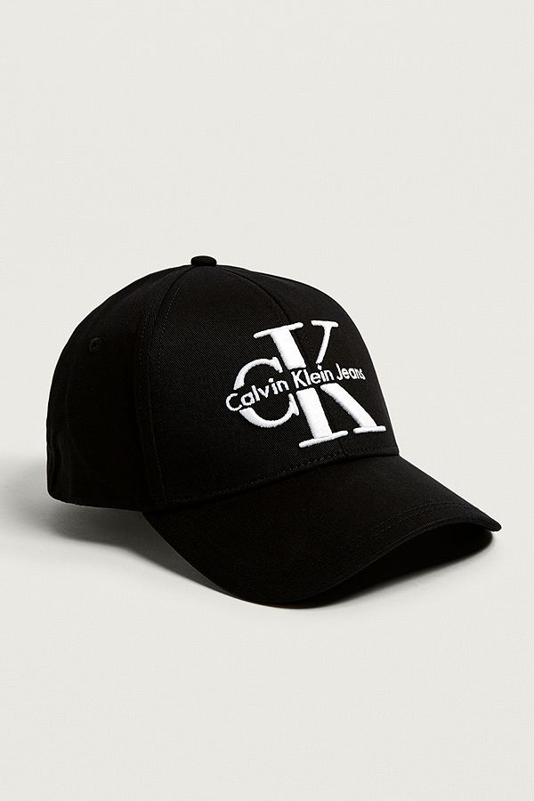 Calvin Klein Reissue Black Baseball Cap  5fa19c69ca6
