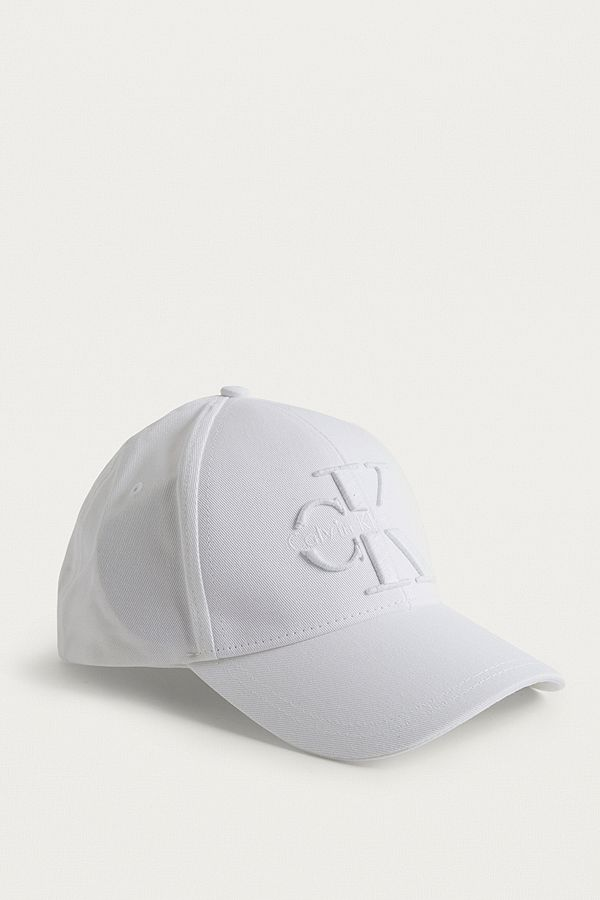 Calvin Klein Reissue White Baseball Cap  e98feb9ecc6d