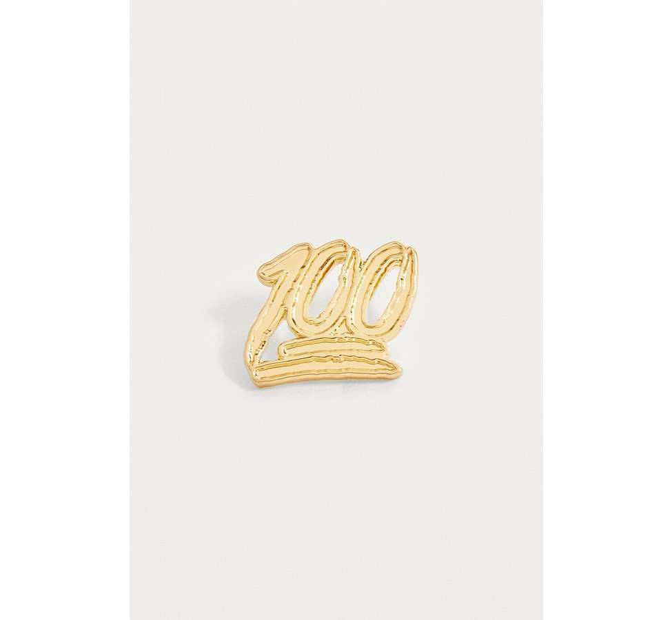 Slide View: 1: Pintrill 100 Pin Badge