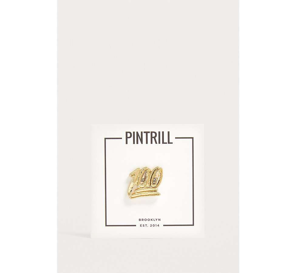 Slide View: 3: Pintrill 100 Pin Badge